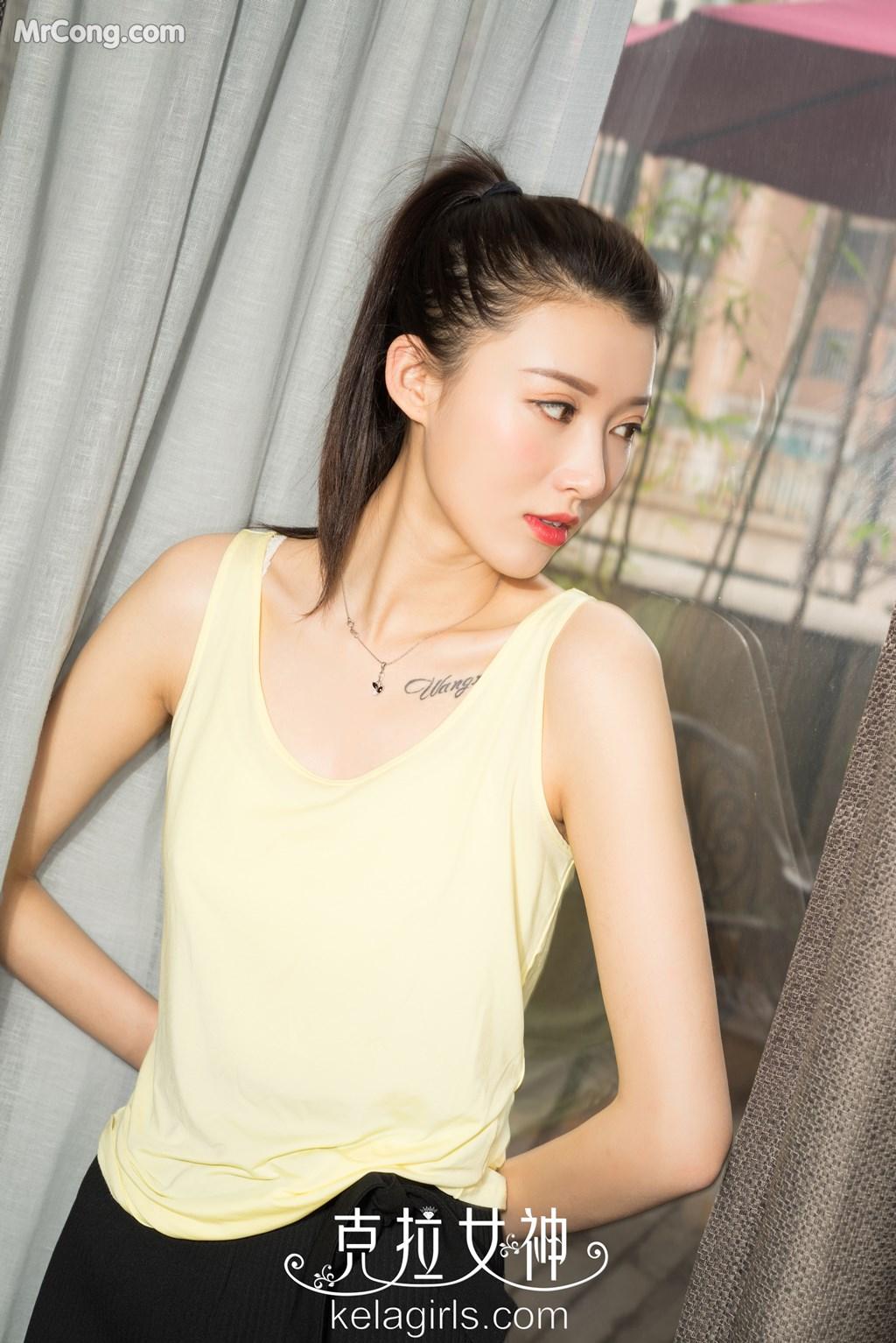 Image KelaGirls-2017-08-09-Zhao-Yujing-MrCong.com-003 in post KelaGirls 2017-08-09: Người mẫu Zhao Yujing (赵雨静) (21 ảnh)