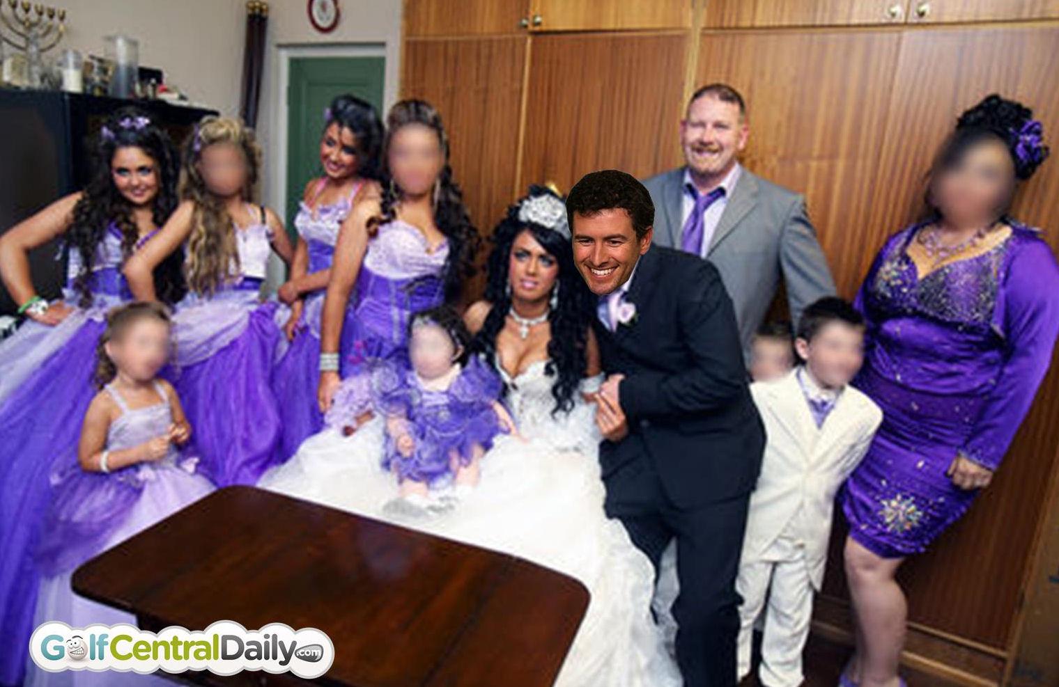 Adam Scott And Marie Kojzar To Have Big Fat Gypsy Wedding Baby