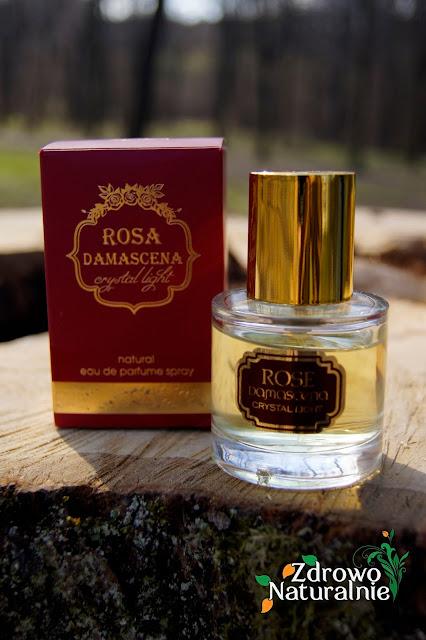 Natural Cosmetics Alba - Naturalny perfum różany dla kobiet