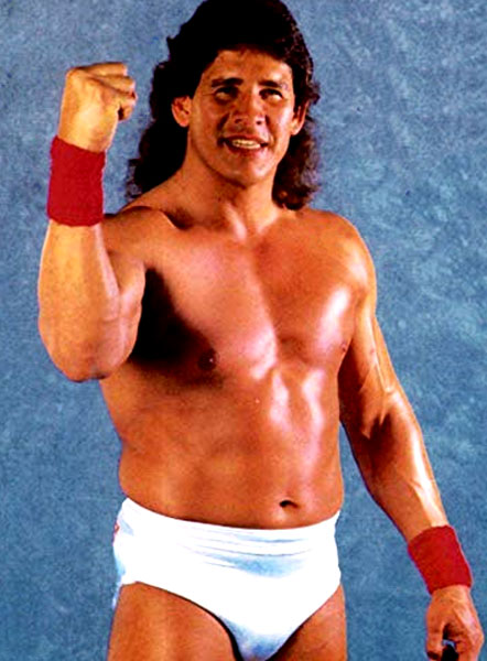 Pressing Catch WWF - Tito Santana
