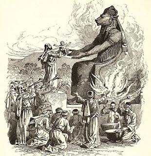 Resultado de imagem para O Deus brasileiro é Moloch que devora seus filhos