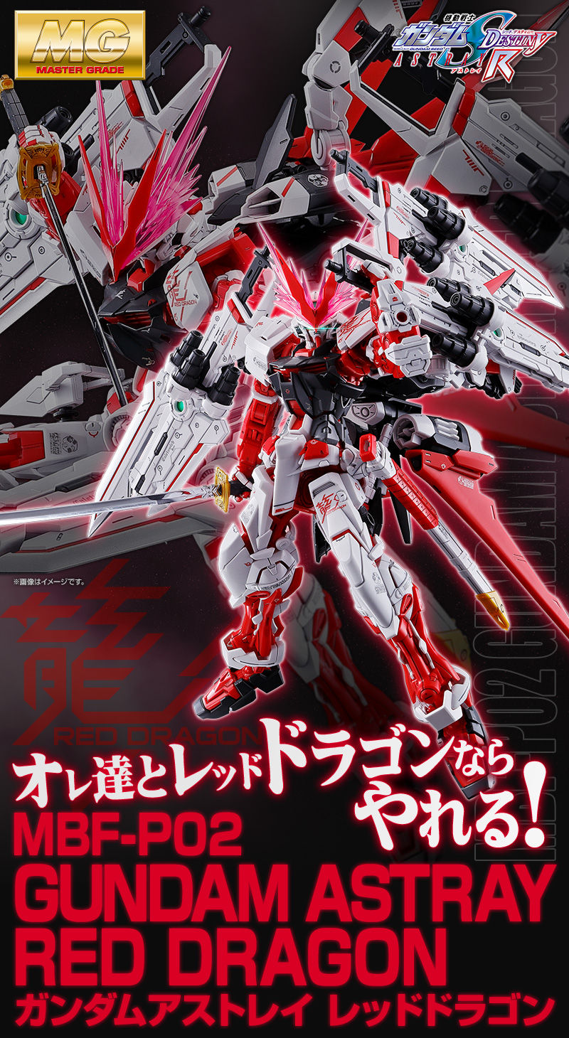 MG GUNDAM ASTRAY RED DRAGON