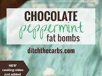 PEPPERMINT FAT BOMBS