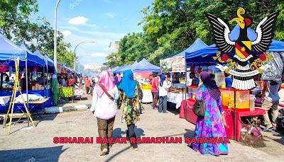 Senarai Bazar Ramadhan Sarawak 2019 (Lokasi)