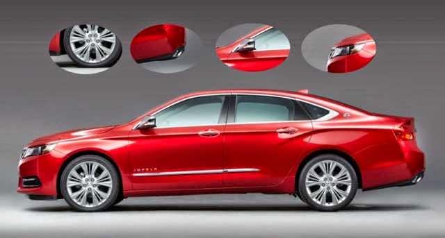 2016 Chevy Impala Exterior