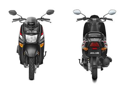 New 2017 Honda Cliq Front & Rear look