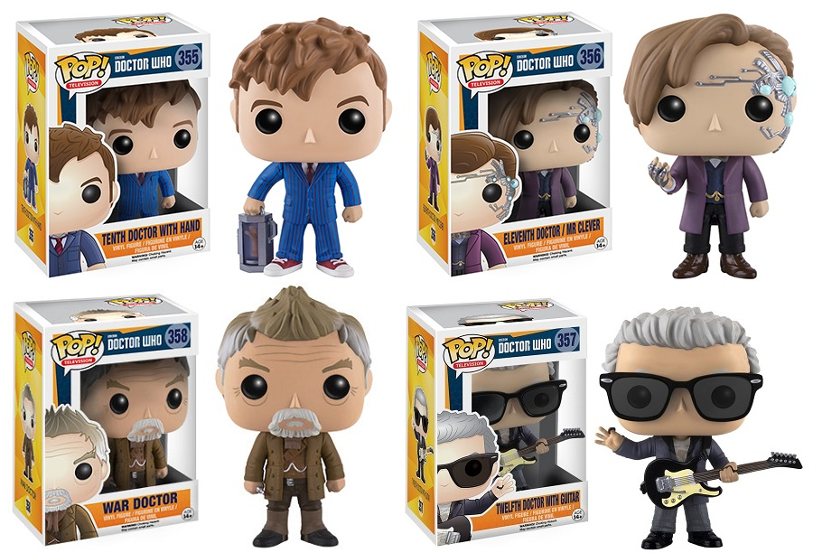 The Blot Says Doctor Who Pop Series 3 Vinyl Figures