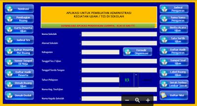 Aplikasi Administrasi UN SMA, SMA, SMK 2017