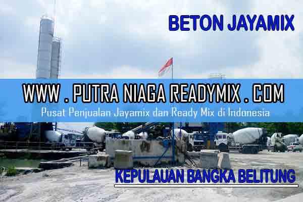 Harga Beton Jayamix Kepulauan Bangka Belitung