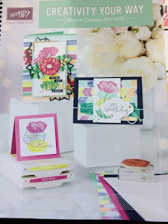 Click on the catalog to order from the new Stampin' Up Catalog