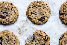 cookies with chocolate chips and coconut