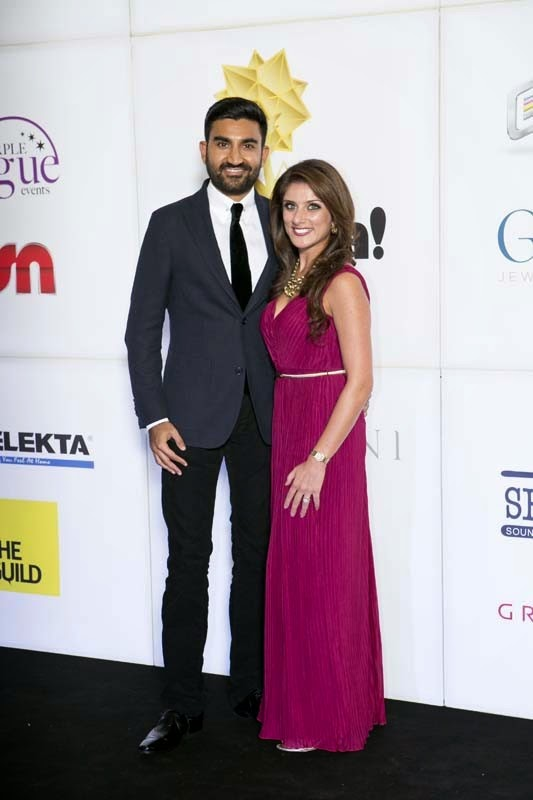 Amer and Sheena, Masala! Awards 2014 Photo Gallery