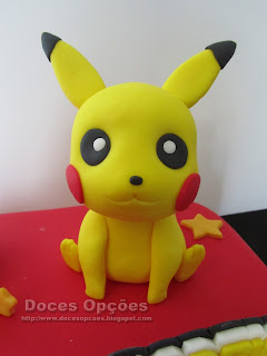 pikachu sugar paste