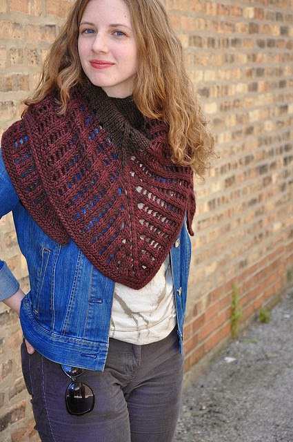 colonnade shawl de Stephen West