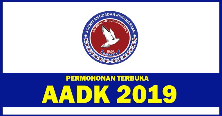 Permohonan Terbuka Jawatan di AADK - Terbuka Lelaki & Wanita