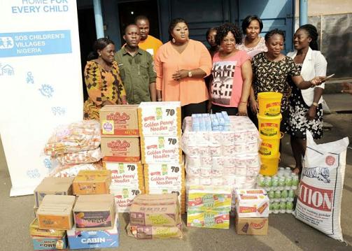 Photos: Eniola Badmus Shares Love At SOS Children's Village This Valentine