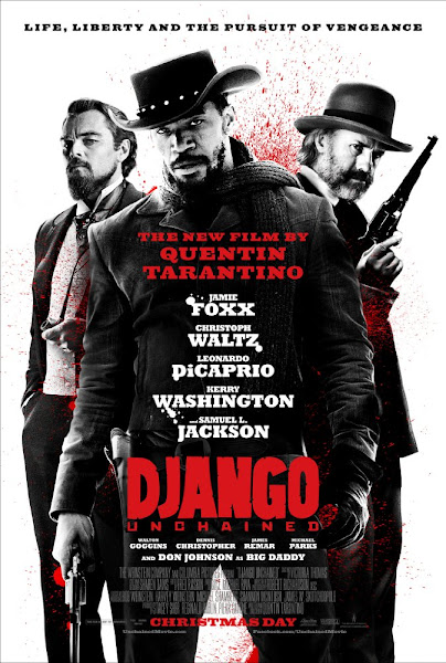 Poster of Django Unchained 2012 Dual Audio [Hindi-Eng] 720p BluRay ESubs Download