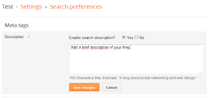 Blog me Seo Settings kaise kare ? full information