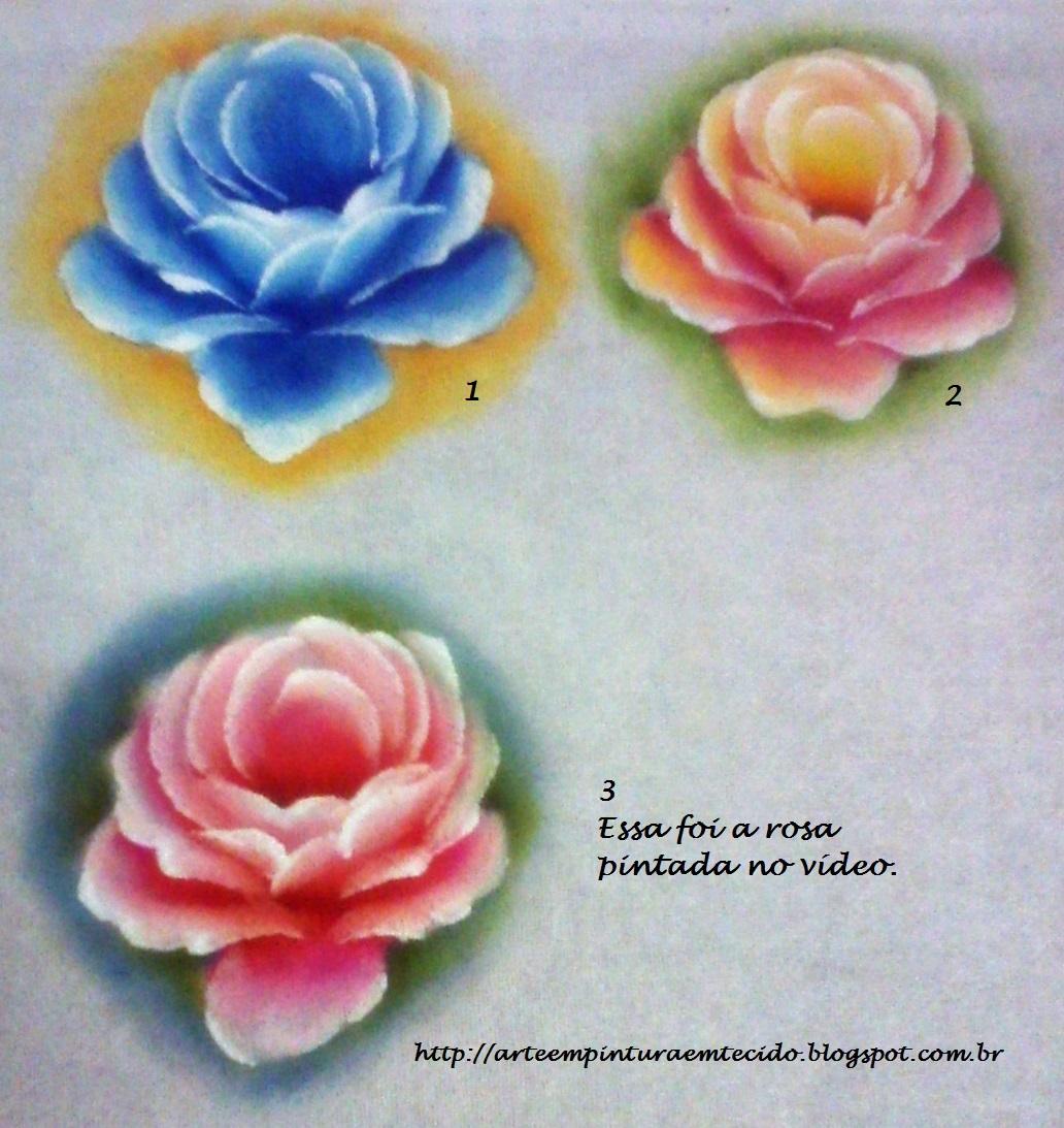 video pintura em tecido