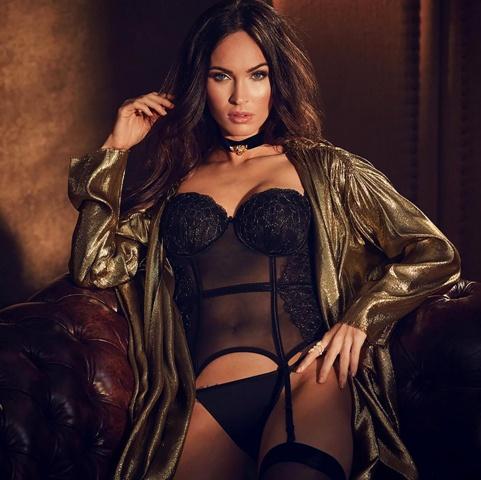 La lencería sí puede ser más sexy con Megan Fox
