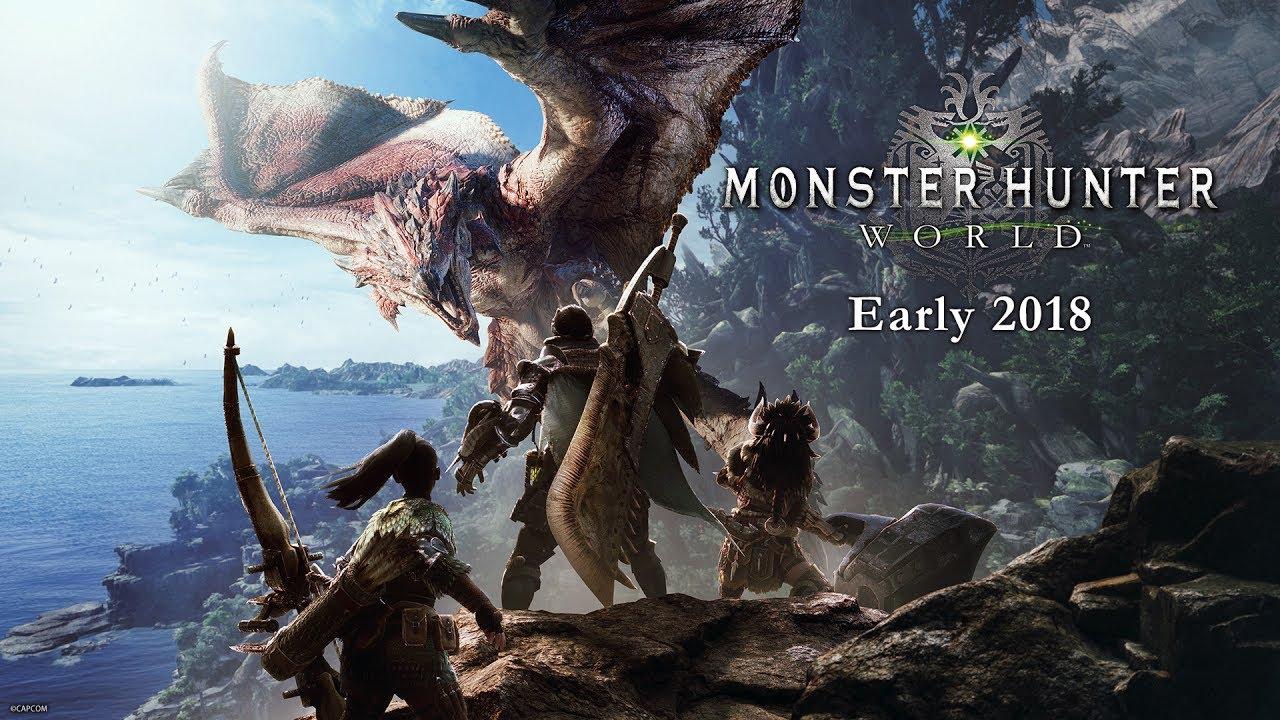 Monster Hunter World se podrá jugar en la GamesCom 2017