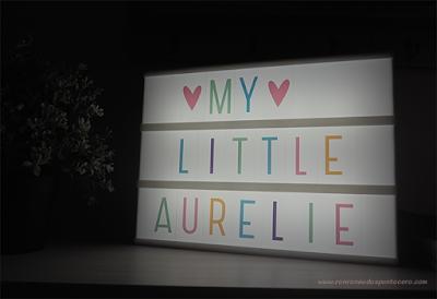 La habitación de Aurélie: Lightbox