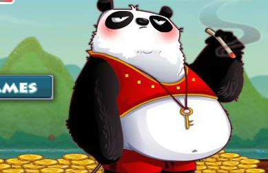 Kung Fu Panda Coin Collector