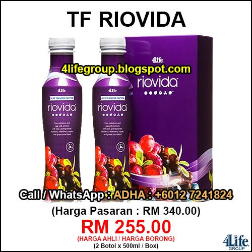 foto 4Life Transfer Factor Riovida