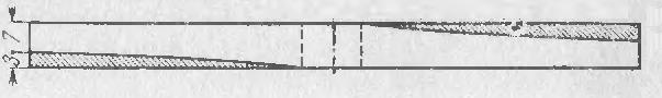 Схема винта самолета