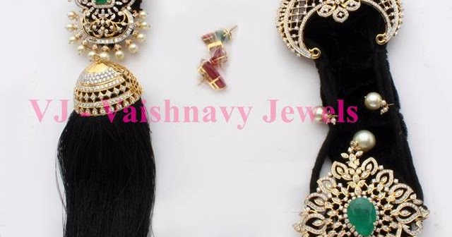 Diamond Jada Billalu By Vaishnavi Jewels Jewellery Designs
