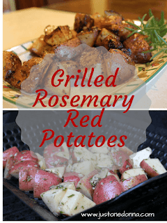 Grilled Rosemary Red Potatoes