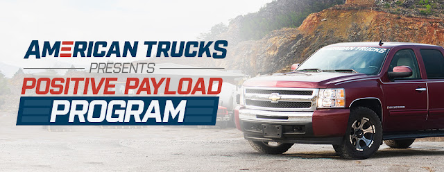 Banner for American Trucks Positive Payload Program