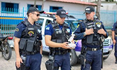 Guarda Municipal vai usar drone 'pega-ladrão' desenvolvido por alunos de Itapissuma