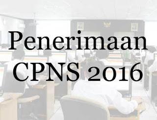 Seleksi Penerimaan CPNS 2016