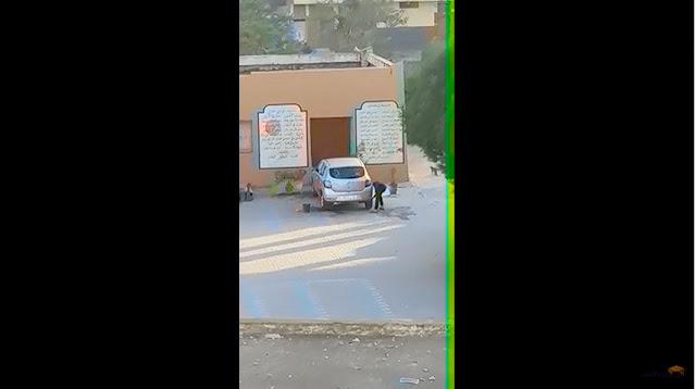 انزكان آيت ملول:فيديو تلميذ يغسل سيارة بمؤسسة تعليمية