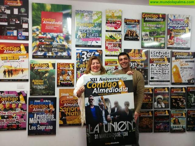 XII Aniversario de Contigo AlMediodía concierto de La Unión