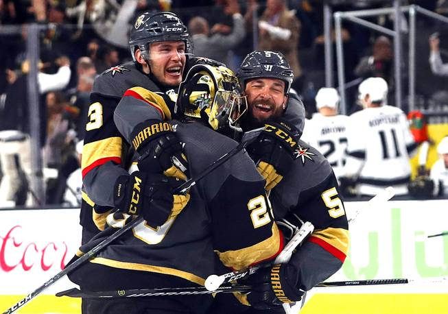 Golden Knights 'took care of our home ice advantage' in double overtime thriller