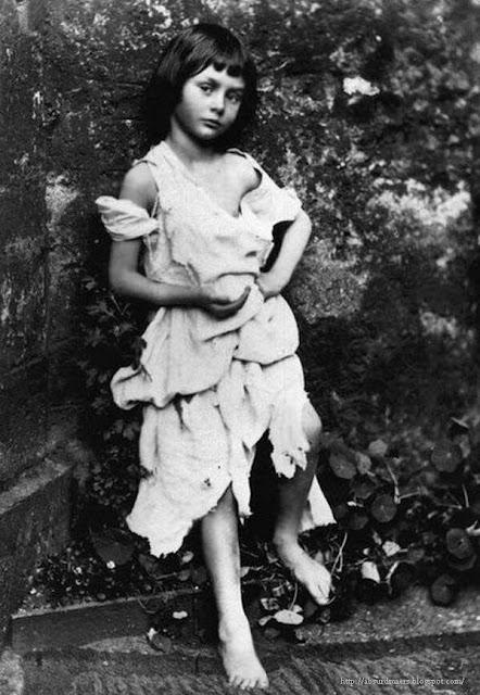 Прототип персонажа Алисы из книги «Алиса в Стране чудес» - Элис Лидделл (1852–1934). The real Alice in Wonderland. Alice Liddell (1852–1934)