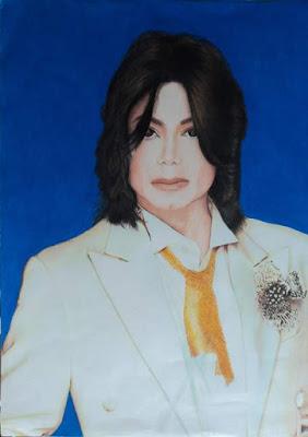 desenho michael jackson