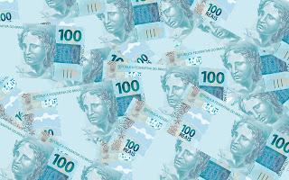 dinheiro rede globo notas 100
