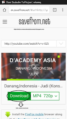 Cara Download Video Dari Youtube Tanpa Software di Android