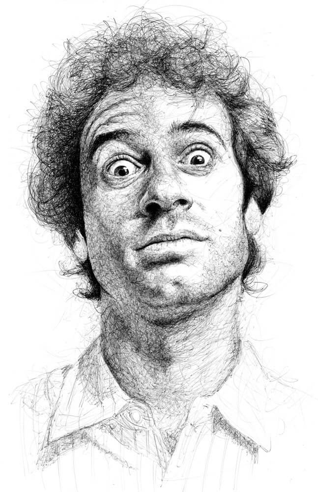 12-Mike-Carroll-Paul-Kobriger-Ballpoint-Pen-Portrait-Drawings-Stippling-and-Scribble-www-designstack-co
