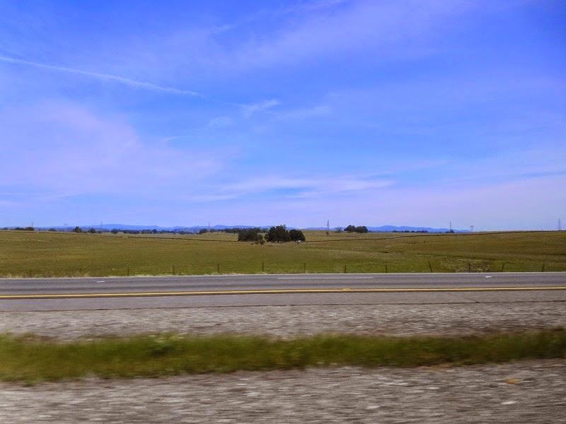Road near Chico