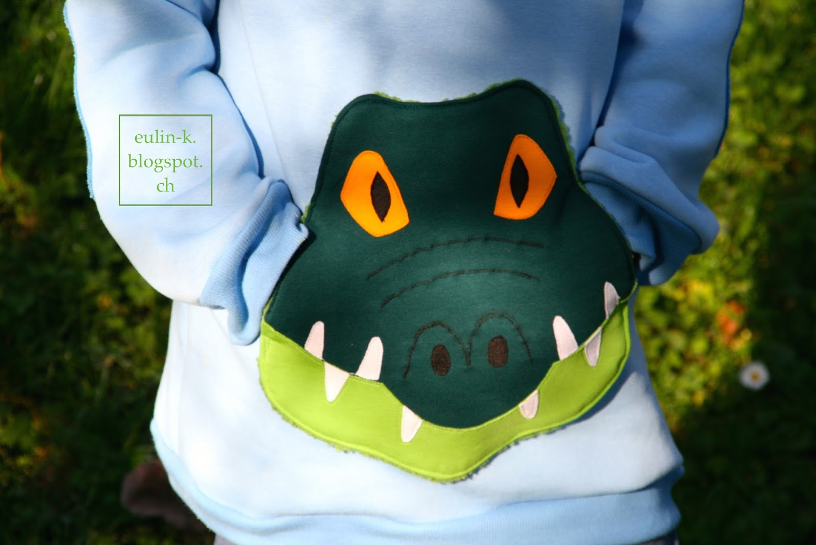 eulin liebt stoff: Krokodil