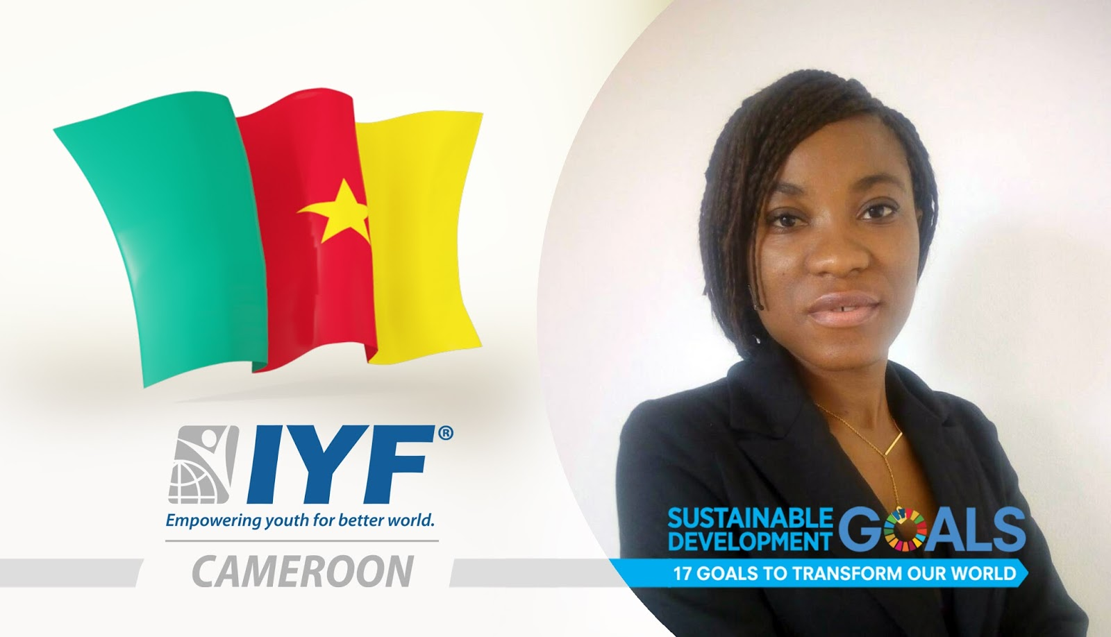 Darline MOUKOUDI, IYF Representative in Cameroon