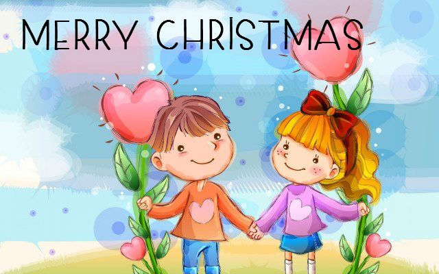 cute christmas images for friends
