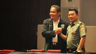 TNI dan BNN Teken MoU Perangi Narkoba
