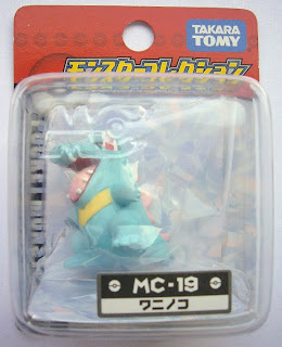 Totodile figure Takara Tomy Monster Collection MC series