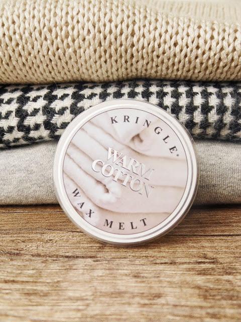 Warm Cotton Kringle Candle