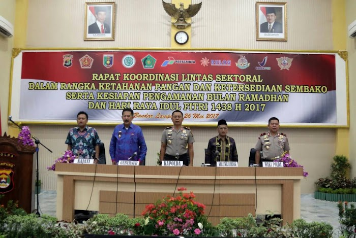 Rapat Lintas Sektor Bulan Ramadhan Provinsi Lampung